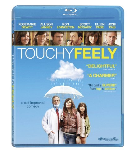 Touchy Feely Dewitt Mcnairy Page Livingston Blu Ray R Ws