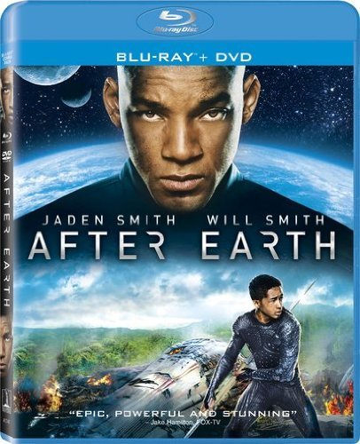 After Earth Smith Smith Blu Ray Ws Pg13 Uv Br DVD