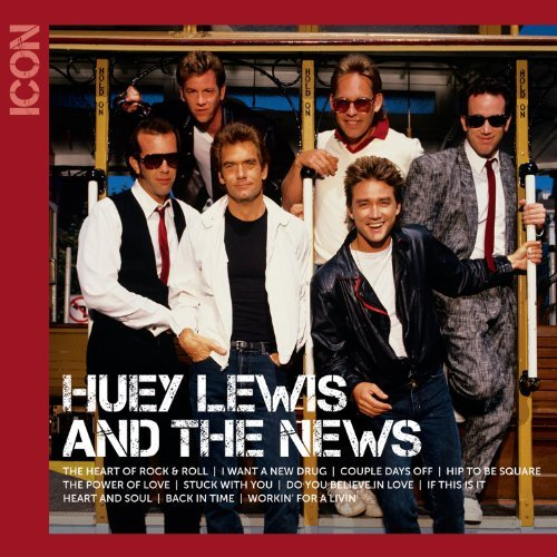 Huey & The News Lewis Icon