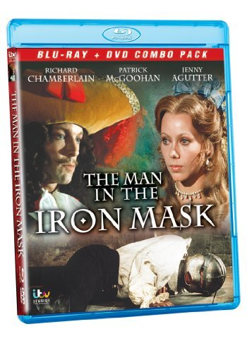 Man In The Iron Mask (1976) Chamberlain Mcgoohan Jourdan A Blu Ray Ws Nr Incl. DVD