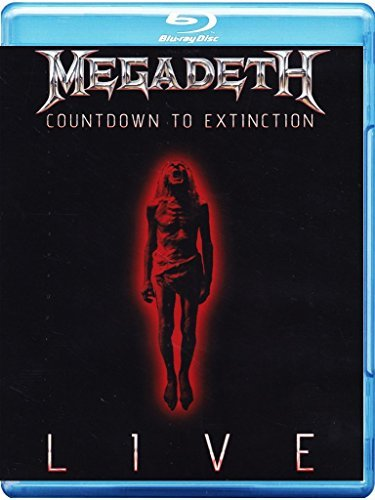 Megadeth Countdown To Extinction Live Import Eu