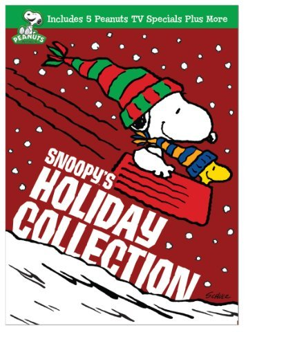 Peanuts Snoopy's Holiday Collection DVD