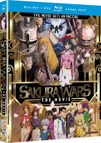 Sakura Wars Sakura Wars Blu Ray Ws Tv14 DVD