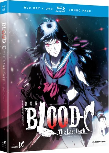 Blood C The Last Dark Blood C Blu Ray Ws Tvma DVD
