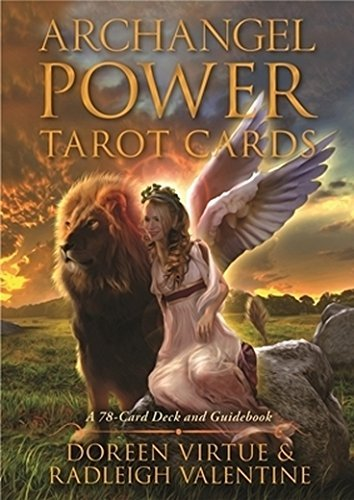 Doreen Virtue Archangel Power Tarot Cards A 78 Card Deck And Guidebook