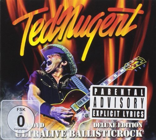 Ted Nugent Ultralive Ballisticrock (2cd D Explicit Version Deluxe Ed. 2 CD DVD Deluxe Ed.