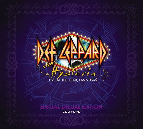 Def Leppard Viva Hysteria Deluxe Edition Deluxe Ed. 2 CD DVD