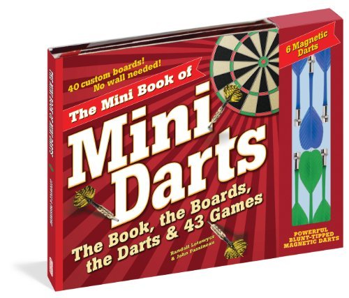 Randall Lotowycz The Mini Book Of Mini Darts The Book The Boards The Darts And 43 Games