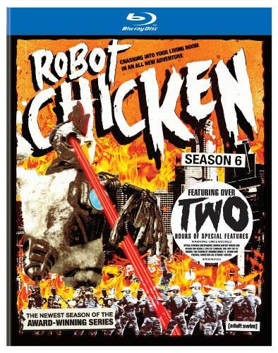 Robot Chicken Season 6 Robot Chicken Blu Ray Ws Uv Nr
