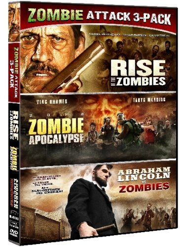 Abraham Lincoln V Zombies Zomb Zombie Triple Feature Nr