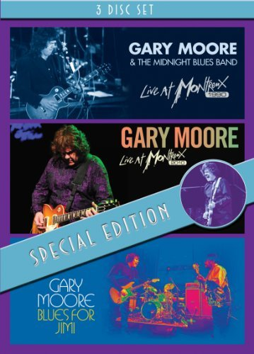 Gary Moore Live At Montreux 1990 Live At Nr 3 DVD