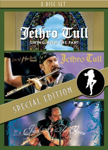 Jethro Tull Living With The Past Live At M Nr 3 DVD