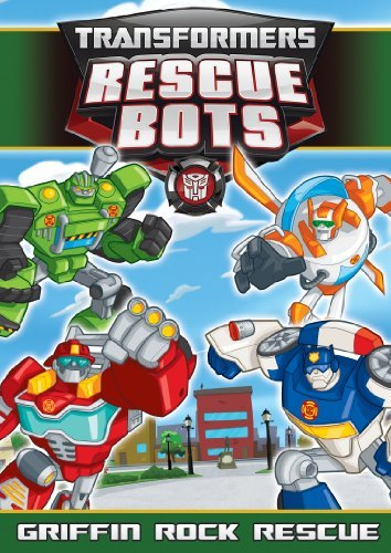 Transformers Rescue Bots Griffin Rock Rescue DVD Nr
