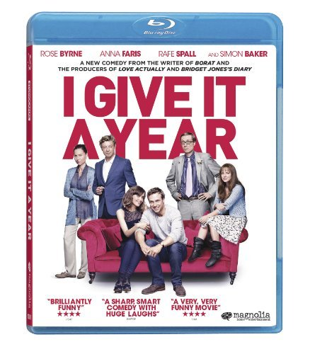 I Give It A Year Byrne Faris Spall Driver Baker Blu Ray R Ws