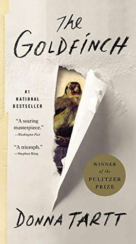 Donna Tartt The Goldfinch Large Print