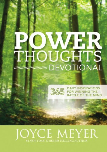 Joyce Meyer Power Thoughts Devotional 365 Daily Inspirations For Winning The Battle Of