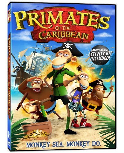 Primates Of The Caribbean Lewis Jenkins Meyers DVD Nr Ws