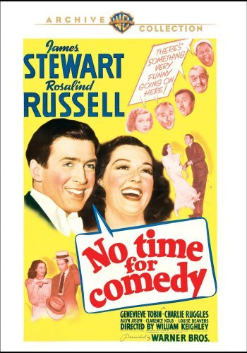 No Time For Comedy Stewart Russell Tobin Ruggles DVD Mod This Item Is Made On Demand Could Take 2 3 Weeks For Delivery