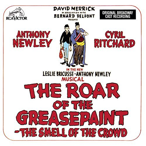 Broadway Cast Roar Of The Greasepaint Newley Bricusse Ritchard