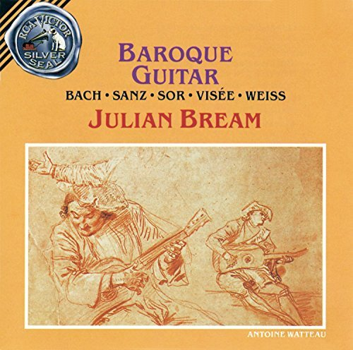 Julian Bream Baroque Guitar Bream (gtr)