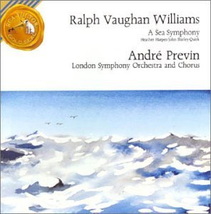 R. Vaughan Williams Sea Symphony Harper (sop) Shirley Quirk Previn London So