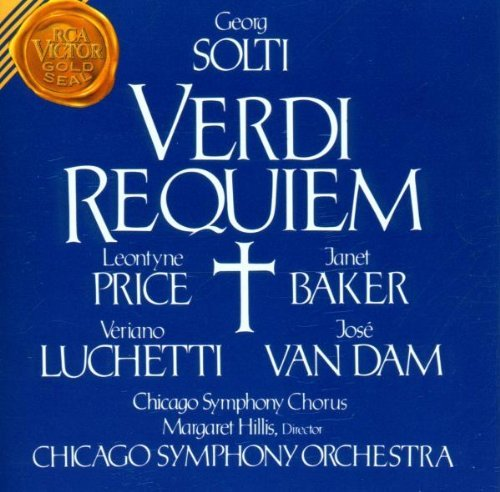 G. Verdi Requiem Price Baker Luchetti Van Dam Solti Chicago So
