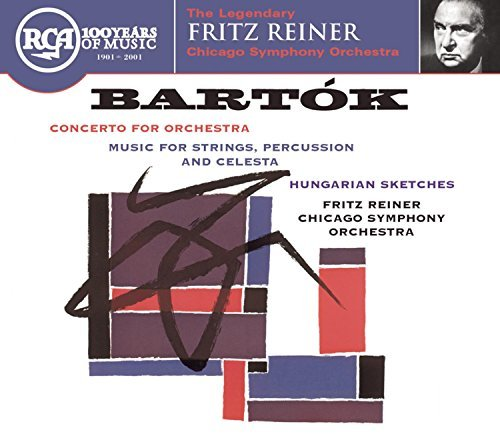 Béla Bartók Concerto For Orchestra Reiner Chicago So
