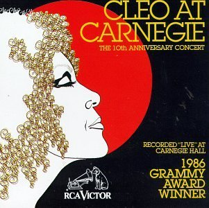 Cleo Laine Cleo At Carnegie Hall 10th Ann