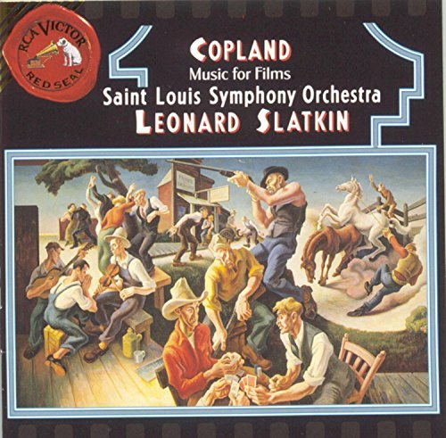 A. Copland Music For Films Slatkin St. Louis So
