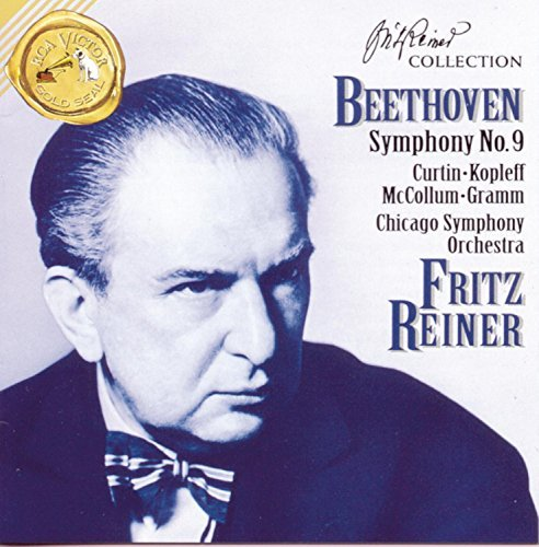 Ludwig Van Beethoven Symphony No. 9 Choral Curtin Kopleff Mccollum Gramm Reiner Chicago So