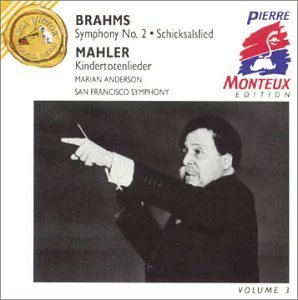 Brahms Mahler Sym 2 Songs Of The Death Of Ch