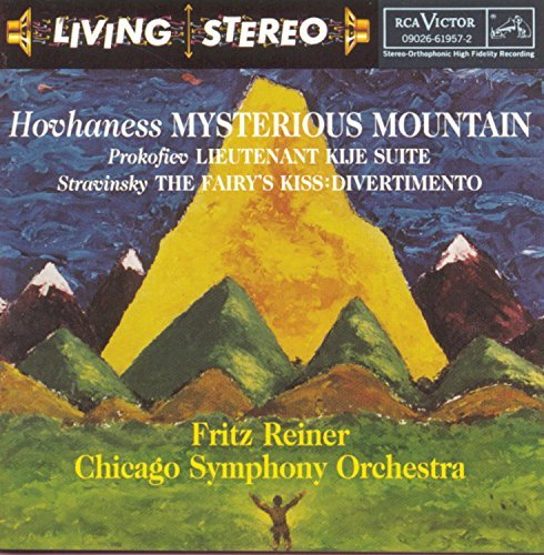 Hovhaness Prokofiev Stravinsky Mysterious Mountain Lieutenant Reiner Chicago So