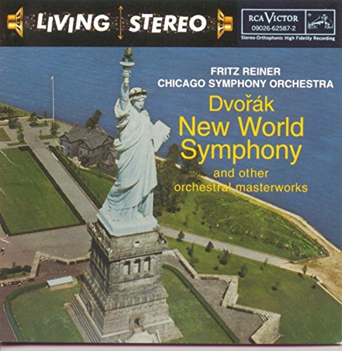 Dvorak Smetana Weinberger New World Symphony Reiner Chicago So