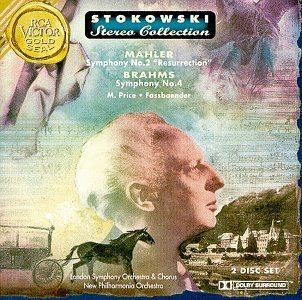 Leopold Stokowsky Conducts Mahler Brahms Sym 2