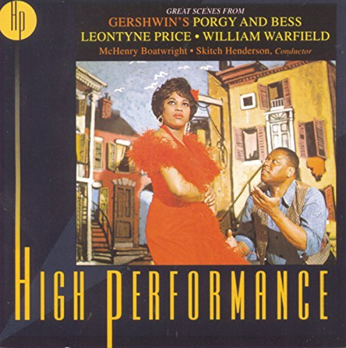 G. Gershwin Porgy & Bess Hlts Price Warfield Boatwright & Henderson