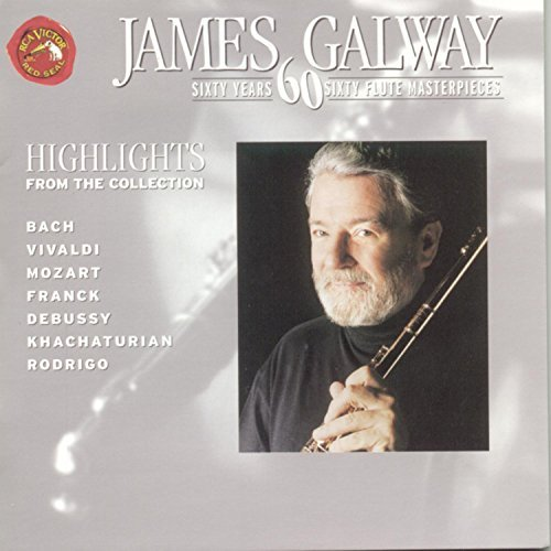 James Galway 60 Years 60 Flute Masterpieces Galway (fl)