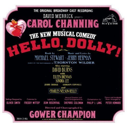 Hello Dolly! Broadway Cast