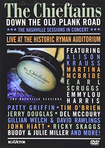 Down The Old Plank Road Nashvi Chieftains Enhanced DVD