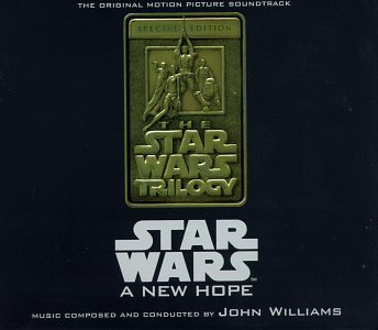Star Wars New Hope Soundtrack Music By John Williams Lmtd Ed. 2 CD 2 Cass Set