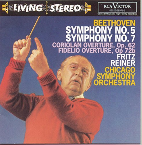Ludwig Van Beethoven Symphonies 5 & 7 Reiner Chicago So