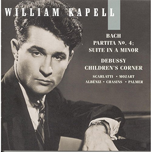 William Kapell Vol. 6 Bach Debussy Scarlatti Kapell (pno)