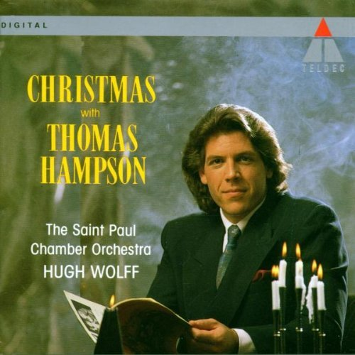Thomas Hampson Christmas With Thomas Hampson Wolff St. Paul Chbr Orch