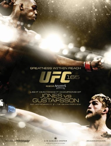 Ufc Ufc 165 Jones Vs. Gustaffson DVD Nr Ws