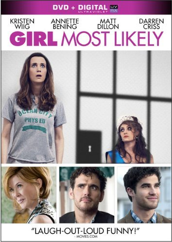 Girl Most Likely Wiig Benning Dillon DVD Uv Pg13 Ws