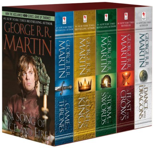 George R. R. Martin Game Of Thrones 5 Copy Boxed Set (george R. R. Mar A Game Of Thrones A Clash Of Kings A Storm Of S
