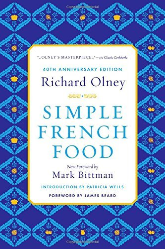 Richard Olney Simple French Food 0040 Edition;anniversary