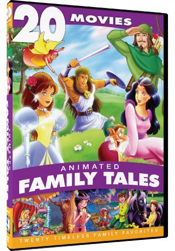 Animated Family Tales 20 Movie Animated Family Tales 20 Movie Tvg 4 DVD