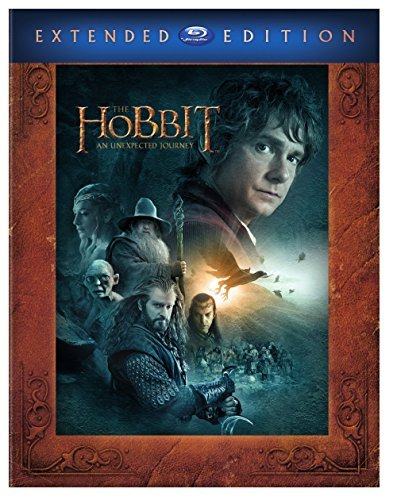 The Hobbit An Unexpected Journey Mckellen Freeman Armitage Blu Ray Ws Extended Ed. Pg13 3 Br Uv