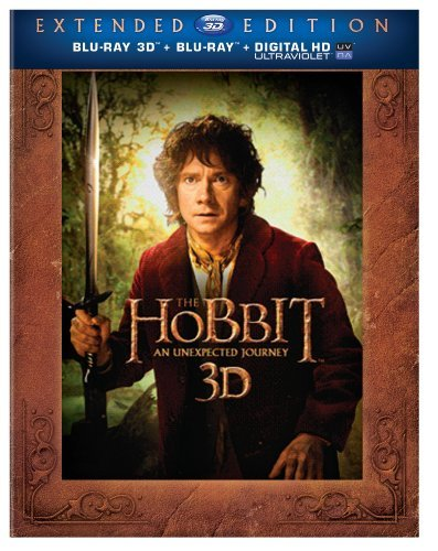 Hobbit An Unexpected Journey 3 Mckellen Freeman Armitage Blu Ray Ws Extended Ed. Pg13 5 Br Uv