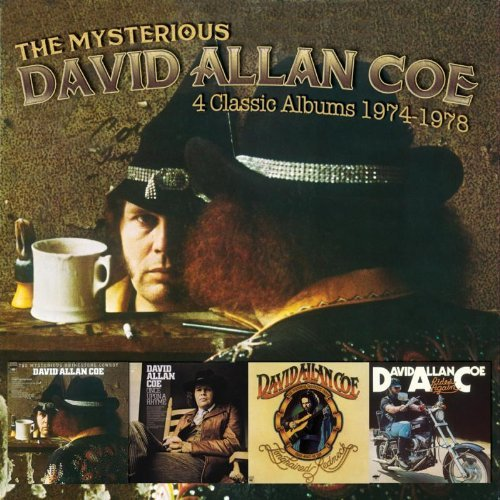 David Allan Coe Mysterious David Allan Coe 4 2 CD
